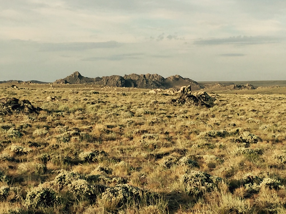 The Great Divide Basin in Wyoming