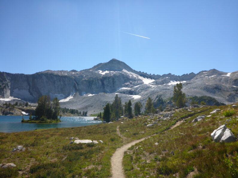 Alpine lake in the Wallowas