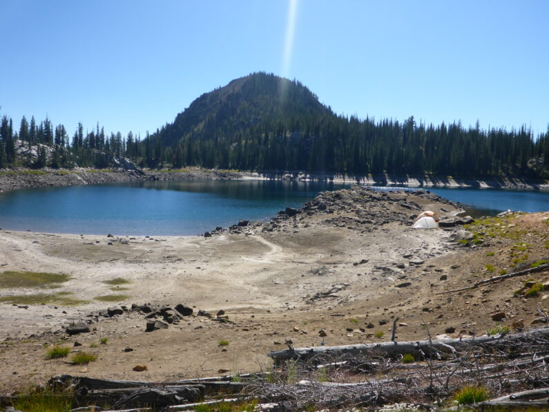 High Alpine Lake