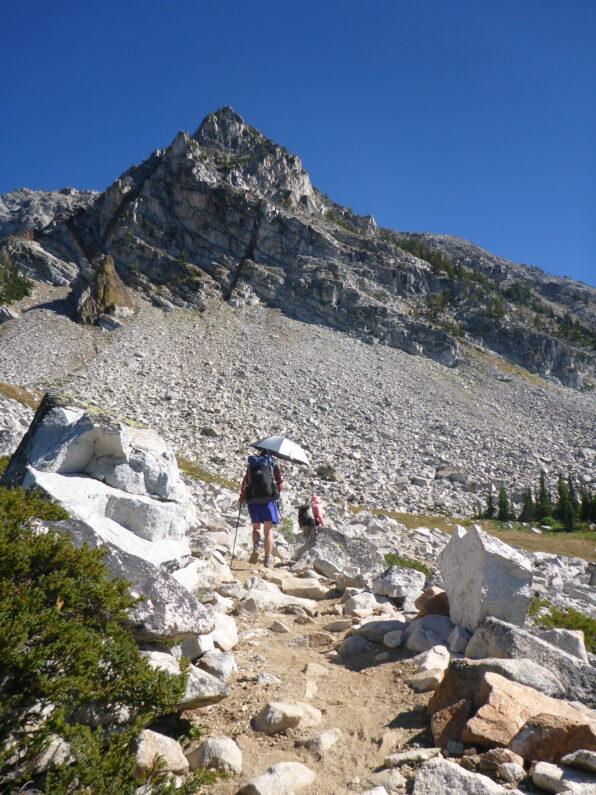 high alpine granite peaks