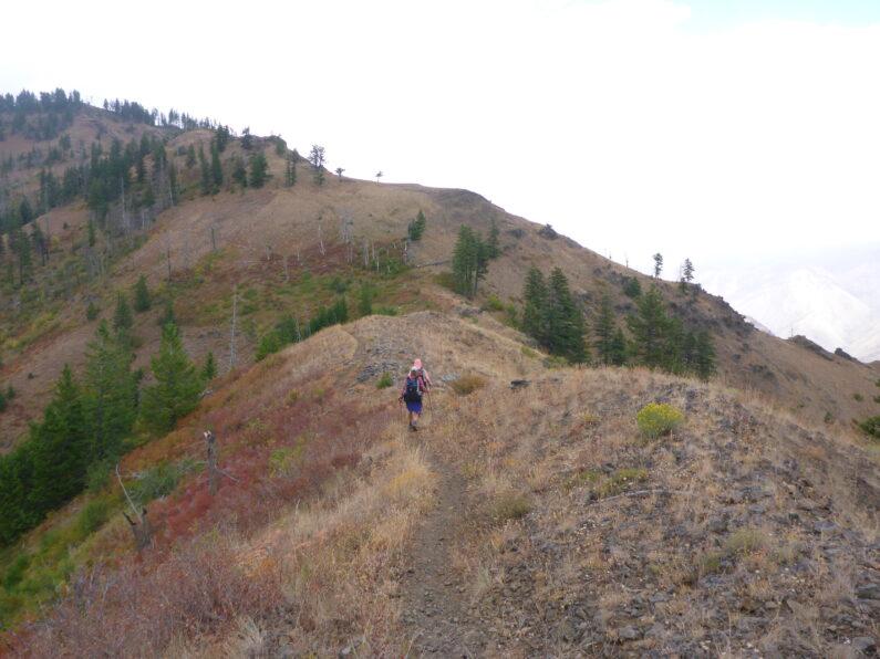 Ridge walk in Hells Canyon